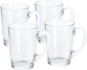Set cești din sticlă Excellent 320 ml, 4 buc.