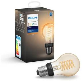 LED Bec dimmabil Philips HUE WHITE FILAMENT A60 E27/7W/230V 2100K