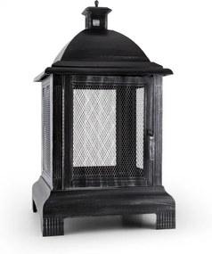 Blumfeldt Loreo cămin de grădină vatră Lantern Garden Cuptor oțel