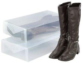 Set 2 cutii depozitare cizme Wenko Pack