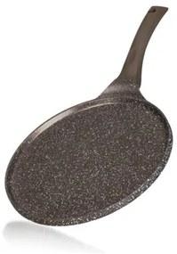 Tigaie de clătite Banquet Granite Dark Brown, cu suprafaţă non aderentă, 26 cm