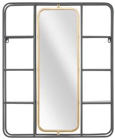 Oglinda cu rafturi INDUSTRY CM 62,5X12X74,5, Mauro Ferretti