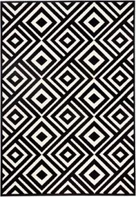Covor negru/alb Art Zala Living