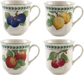 Set 4 cani Villeroy & Boch French Garden Modern Fruits Jumbo 0.48 litri