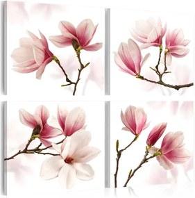 Tablou - Romantic Pink 40x40 cm