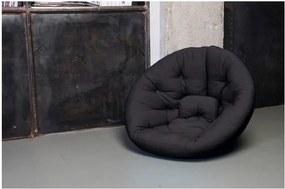Fotoliu extensibil Karup Nest Black