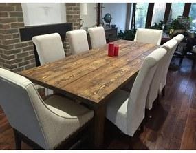 Masa Bundyhill, lemn masiv, maro, 100 x 78 x 74 cm