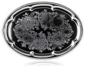 Platou de servit Banquet Akcent, 40,5 x 29 cm,, inox