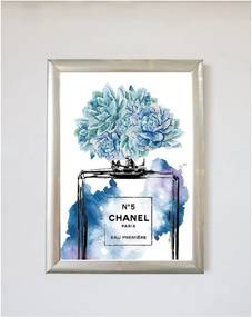 Poster cu ramă Piacenza Art Chanel, 30 x 20 cm
