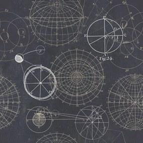 MINDTHEGAP Tapet - Astronomy Blue