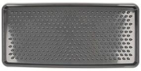Tavă de scurgere pantofi , negru, 78 x 37 cm