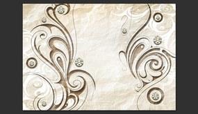 Fototapet - Stone Butterfly 400x280 cm