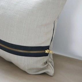 Fata Perna cu Model Grafic - Bumbac Gri lungime(50cm) x latime(30cm)