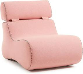 Fotoliu roz Club La Forma