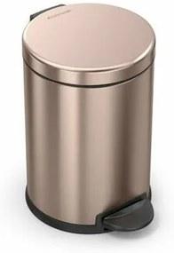 Simplehuman coș de gunoi cu pedală, rotund 4,5 l, roz