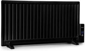 OneConcept Wallander, radiator pe ulei, 1000 W, termostat, încălzitor de ulei, ultra-plat, negru