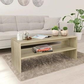 800129 vidaXL Măsuță de cafea, stejar Sonoma, 100x40x40 cm, PAL