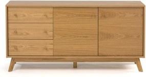 Comoda din lemn stejar Kensal Medium Woodman
