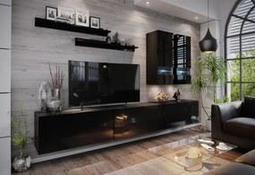 Expedo Mobilă sufragerie ELPASO 1, negru/negru luciu