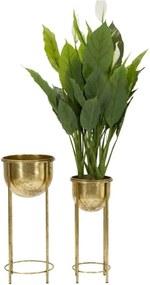 Set 2 vaze pentru flori Coppia Glam Ø27x62-21,5x52 cm