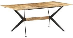 321687 vidaXL Masă de bucătărie, 180x90x76 cm, lemn masiv de mango