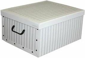 Compactor Cutie de depozitare pliabilă Nordic, 50 x 40 x 25 cm, gri