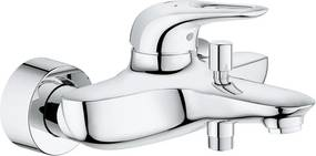 Baterie cada Grohe Eurostyle, monocomanda, 1/2, cartus ceramic, protectie reflux, limitator de debit/temperatura, crom