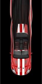 Prosop Red Car, 70 x 140 cm