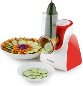 Klarstein Carrot & Rock, 150W, roșu, tăietor de legume electric, 5 extensii