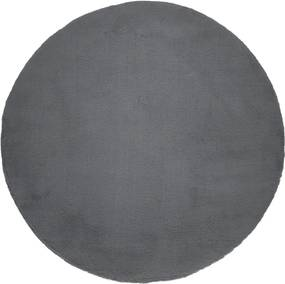 COVOR ROTUND, 120X120 CM, GROSIME 10 MM, GRI