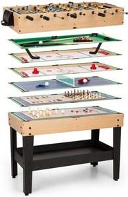 OneConcept GAME-STAR, masă de joc cu 37 jocuri, multigame, sertar pentru depozitare, mdf