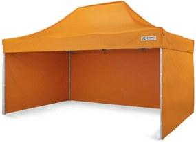 Cort pavilion pliabil 3x4,5m - Portocaliu