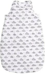 Lorelli - Sac de dormit fara maneci Clouds din Bumbac, 80x49 cm, Alb