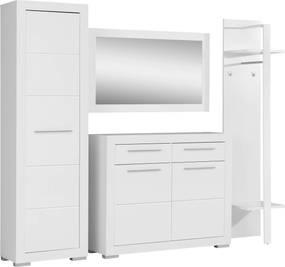 Set mobilier din 4 piese AVA White