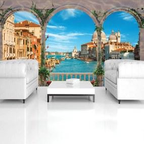 Fototapet - Canalul Grande din Veneția (254x184 cm), în 8 de alte dimensiuni noi