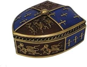 Cutie bijuterii Scut medieval 12.5 cm