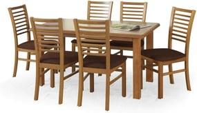 EMIL masă extensibilă, arin (140-180x80x74 cm)