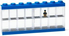 Cutie depozitare 16 minifigurine LEGO®, albastru