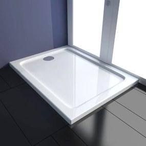 Cădiță duș dreptunghiulară ABS 80 x 100 cm