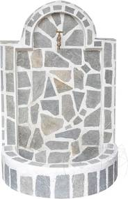Cismea mare - placata cu piatra poligonala Kavala (105 x 70cm, 70kg)
