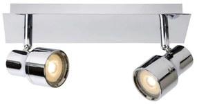 Lucide 17948/10/11 - LED Lampa spot baie SIRENE-LED 2xGU10/4,5W/230V