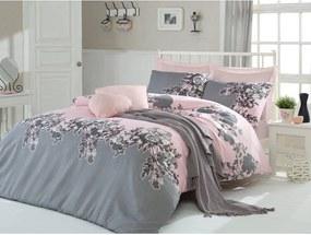 Lenjerie de pat cu cearșaf Rodez, 200 x 220 cm