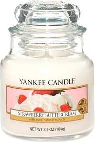 Lumânare parfumată Yankee Candle Strawberry Buttercream, timp de ardere 25 - 40 ore