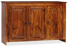 245151 vidaXL Servantă din lemn masiv de sheesham 115 x 35 x 75 cm