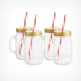 Set 4 pahare pentru limonada