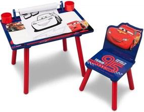 Set masuta pentru creatie si 1 scaunel Cars