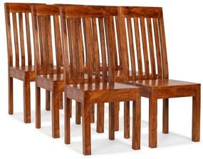 275274 vidaXL Scaune de masă 6 buc. lemn masiv, finisaj palisandru, modern