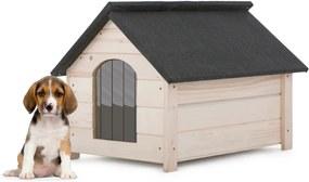 Cușcă din lemn pentru câine MOLLY