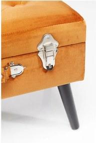 Scaun Kare Design Suitcase, portocaliu