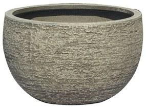 Ghiveci din fibra de  piatra.30 x 18 cm